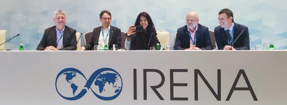 Руслана на 9-й сесії Асамблеї IRENA