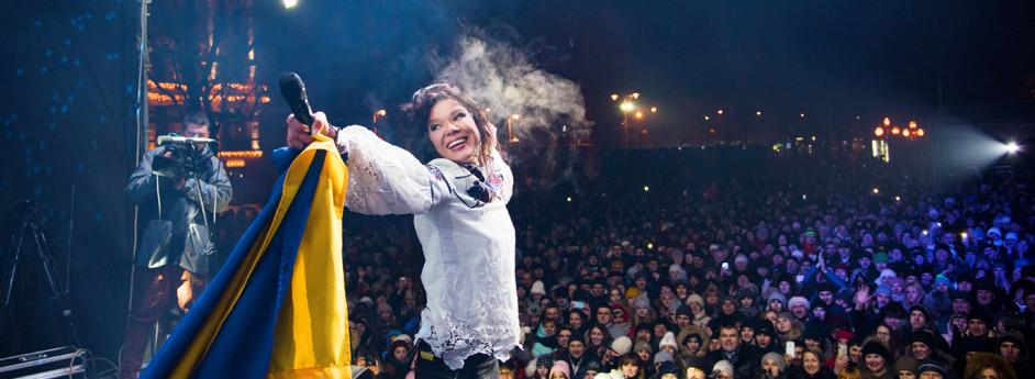 Руслана продовжує традицію Різдвяних концертів
