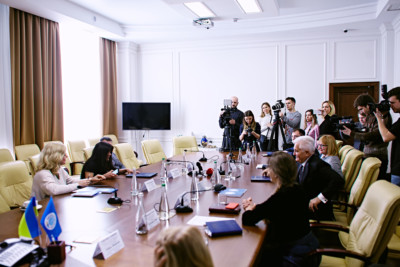 Підписання меморандуму про співпрацю з ПрАт Укргідроенерго